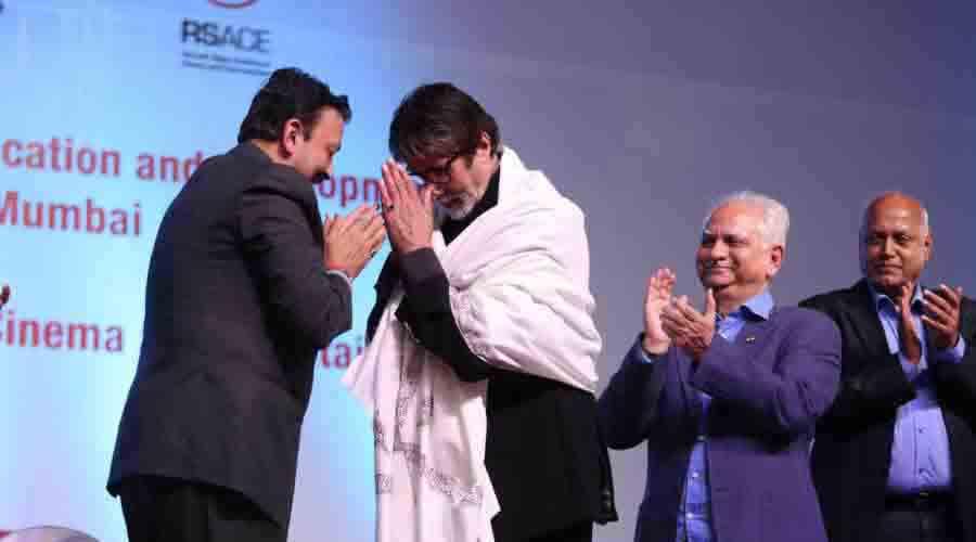 With Mr Amitabh Bachchan