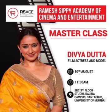 Master Class with Ms. Divya Dutta